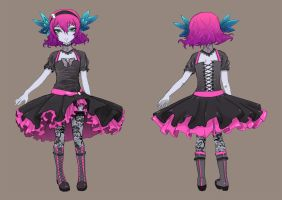 PM 2011:Flower Girl by Ethereal-Mind