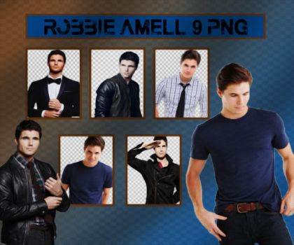 Robbie Amell PNG Pack by sarii016
