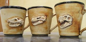 fossil cups by hoviemon
