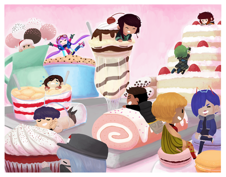 GF - Welcome to Dessertfall by nautical-anchors