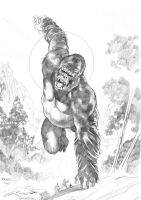 King Kong by PaulRenaud
