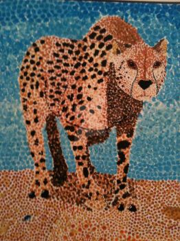 spotted cheetah by Newaga
