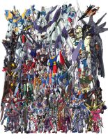 Every Last Gundam by ZGMF-X20-Freedom