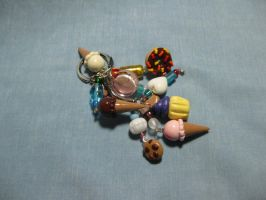 Sweets Keychain by kitcat4056