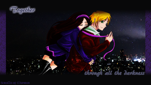 Together through all the darkness by Celtic-Sea