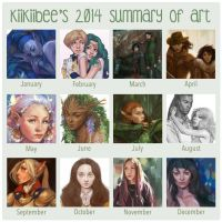 2014 Summary of Art by kiikii-sempai