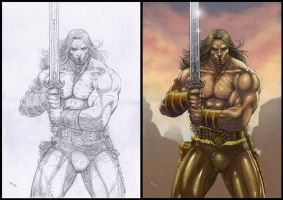 Conan - The Barbarian by RobertoRibeiro