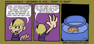 30 Days Comic Challenge Day 18 Heart 2 Heart by JesseAcosta