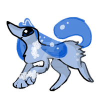 Suddog (Evolution of Dripup) by divakitty704