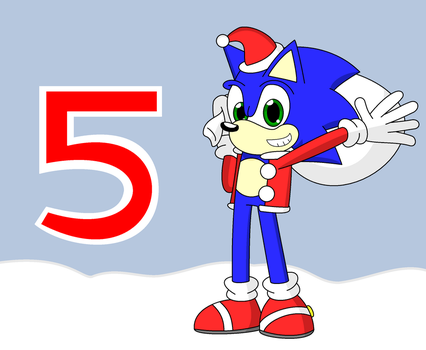 5 Days of Christmas by sonicsmash328