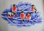 Bullfinches by Kirelena