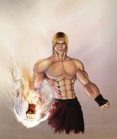 Ken Masters - Street Fighter by herculesfilho