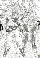 Vegeta let's fuse by bloodsplach