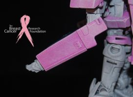 Pink Optimus Prime Custom by Shenron-Customs
