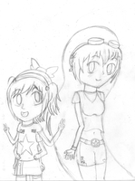 Aiko and lisa by nintenfan96
