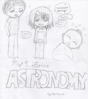 My life in Astronomy Cover by kyofanatic1