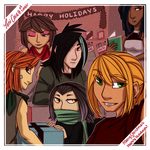 Happy Holidays from the Starling Faction by TeniCola
