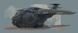 small plane by xiaoxinart