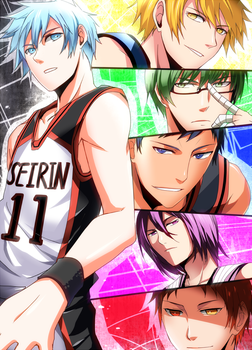 Kuroko no Basket- Generation of Miracle by meru-chan