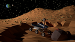 Mars rover (LowPoly) by pat2494