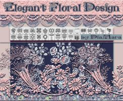 Elegant Floral Design by Diamara