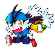 Chibi Klonoa by CheloStracks