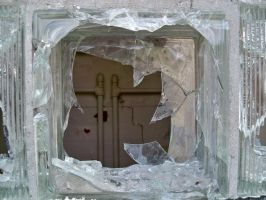 Broken Glass Frame by da-joint-stock