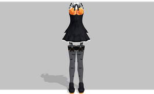 MMD Halloween Queen set by amiamy111