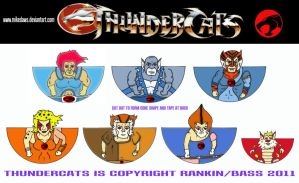 Thundercats - Minis by mikedaws