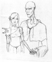 Lord Voldemort and Lily by FultNamn