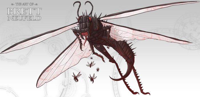 Locust of the Apocalypse by Brett-Neufeld