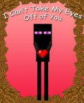 Enderman Valentine by spacepig22