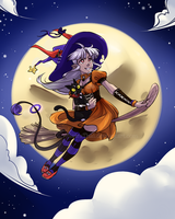 Halloween Girl by SatraThai