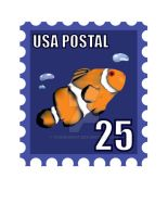 Clown Fish Stamp by toadking07