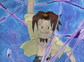 Yoh Asakura by Painted-ghost