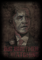 Obama is Watching by 1stDeviation