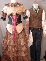 Mrs Lovett costume Back View by acosplaylifeforme
