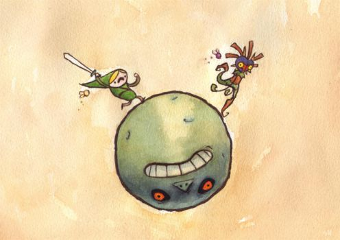 VIDEOGAMES: Majora's Mask by Crabhearst