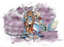 Day 328 - Dota2: S and Y Slark by Chame