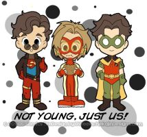 Dc Young JustUs - Tim Kon Bart by nekojindesigns