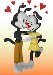 :AT: Yakko and Laffy by Agetian