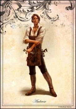 Ambrose, a Steampunk Tinkerer by Concept-Art-House