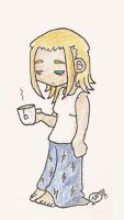 Larxene...in the morning by NarcolepticPenguin
