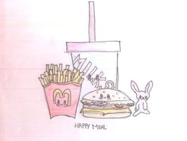 happy meal by greentomatoes