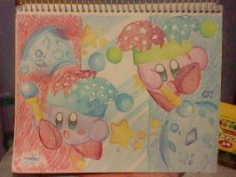 Mirror Kirby by SuperMarioFan888