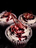 Broken Glass Cupcakes by Dagger-13