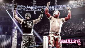Rey Mysterio And  Sin Cara (HD) by WWEAllStarHD