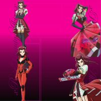 Request by cgrocks7225 - Akiza YouTube background by 5DsPeach