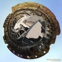Orbiting Colosseum by Graphica