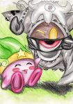 Magolor and Kirby by Ambersuperfun03